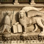 Another depiction of the San Marco lion