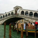 Ponte di Rialto on the way to the Venice train station