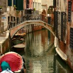 Canal in the San Polo district of Venice