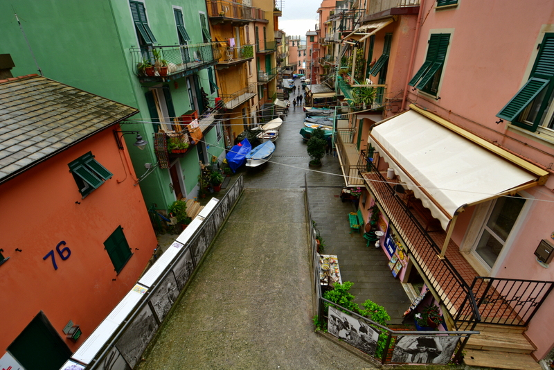 how to get from venice to manarola