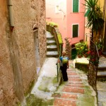 Amelie in Vernazza
