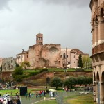 Colosseum with Palatine Hill