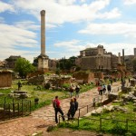 Walking among the Roman Forum