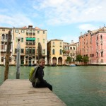 Amelie at the Grand Canal