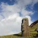 Moai of the Raraku Quarry