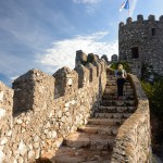 Amelie hiking Moorish Castle