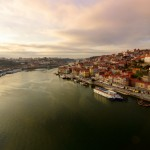 Porto from Luis I Bridge
