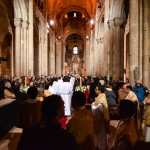 Christmas service at Lisbon Cathedral