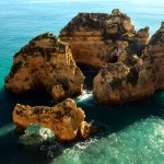 Rocks at Ponta da Piedade
